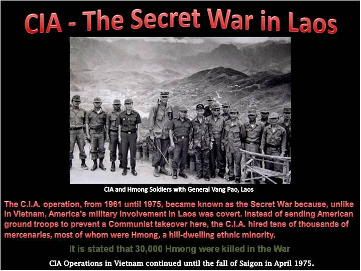 # Push For The Secret War in Laos Text